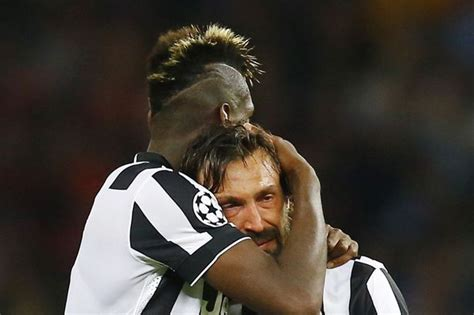 Juventus 1-3 Barcelona: Andrea Pirlo breaks down in tears ...