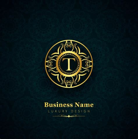 Luxury Letter T Logo Vector  Free Download