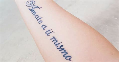 small spanish tattoos popsugar latina