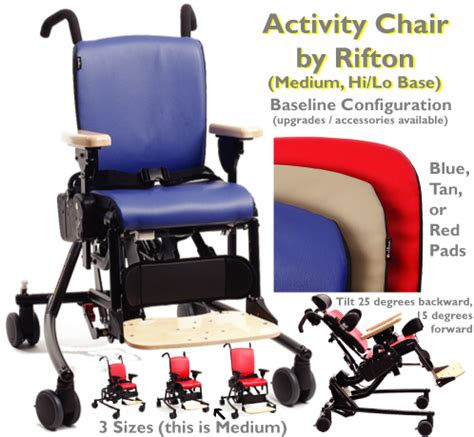 Rifton Chair With Tray by Rifton Activity Chair With Hi Lo Base Special Needs Chair