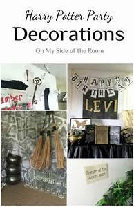Harry Potter Decoration : harry potter party decorations ideas devil keys and ~ Dode.kayakingforconservation.com Idées de Décoration