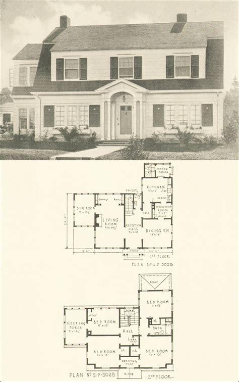 revival house plans free home plans colonial revival floor plans