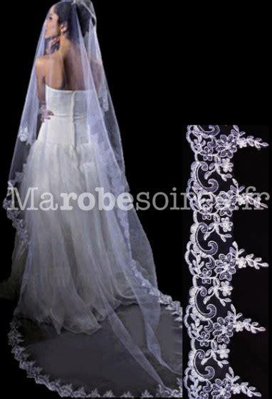 robe de mariée voilée voile en broderie 233 l 233 gante de robe de mari 233 e