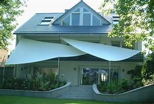 Sonnensegel terrassen berdachung sonnenschutz vom for Sonnensegel terrassenüberdachung