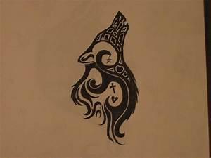 Tribal Wolf Tattoo : google image result for ~ Frokenaadalensverden.com Haus und Dekorationen