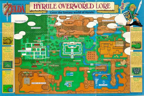 zelda 3 a link to the past map video games pinterest