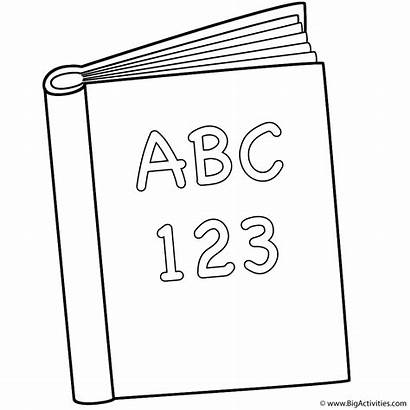 Coloring Pages 123 Abc Books Printable 100th