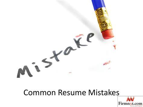 18999 common resume mistakes common resume mistakes by firm next issuu