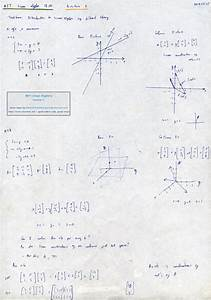 MIT Linear Algebra, Lecture 1: The Geometry of Linear ...