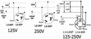 30 Amp 4 Wire Plug Wiring Diagram