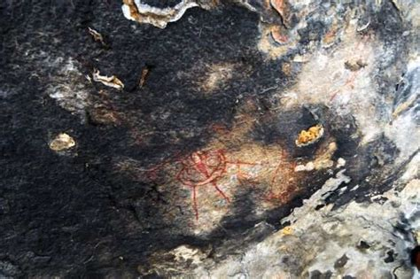 Indian Rock Paintings Depicting UFOs: 10,000-year-old rock ...