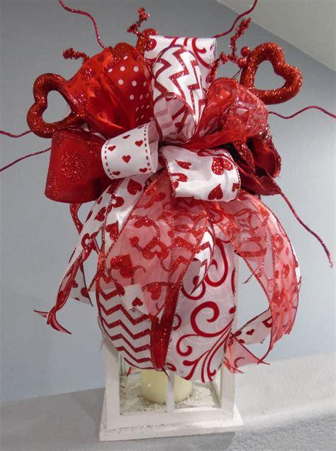 valentines day swag lantern swag heart swag centerpiece