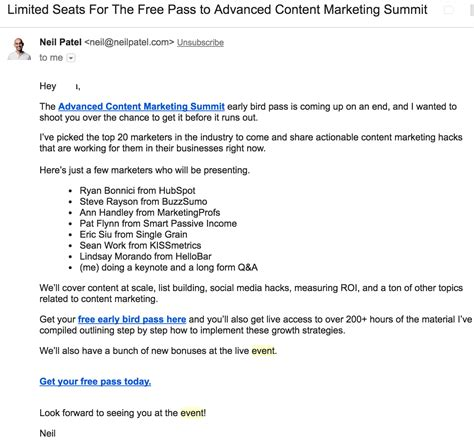 Top 5 Free Event Email Templates You Can Use Right Now