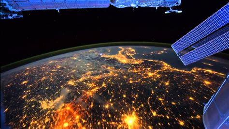 Beautiful Earth From Space  Time Lapse Iss Slow Version