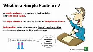 Grammar Lesson  Creating Simple Sentences