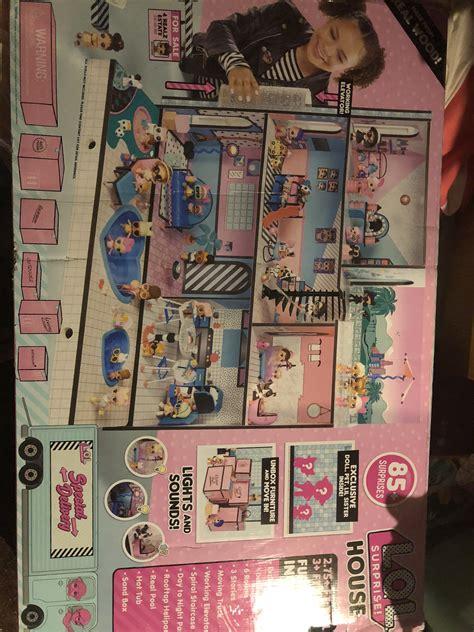 lol surprise doll house   surprises reviews  dolls
