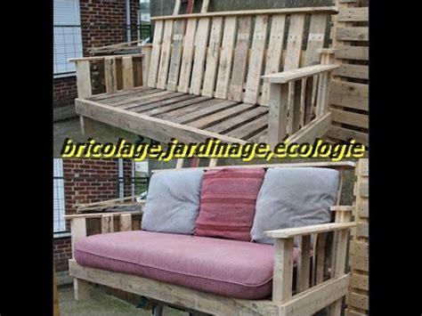 fabrication d un salon en palettes de bois