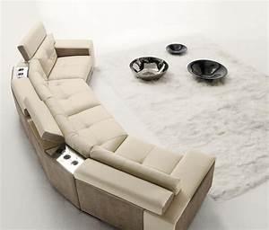 37 propositions d39un canape moderne pour votre sejour With tapis design avec détacher canapé cuir blanc