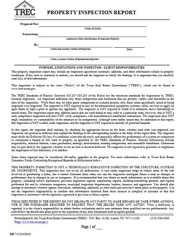renew  inspector license trec