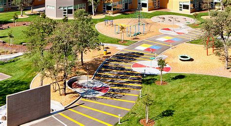 redding school for the arts playground design