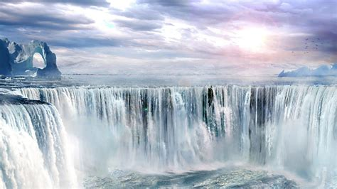 Waterfall Hd Wallpaper Background Image 1920x1080