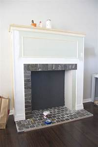 how to build a fireplace How To Build a Faux Fireplace
