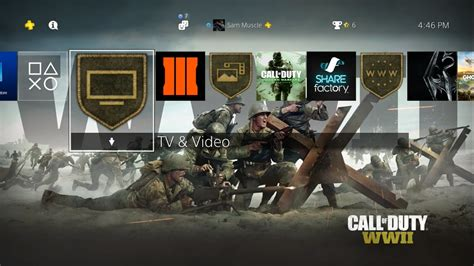 call of duty wwii ps4 dynamic theme hd 1080p60 w sounds youtube