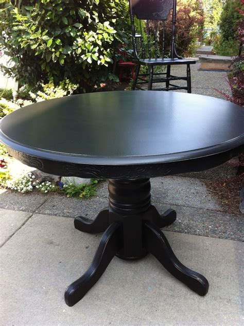 black distressed table and chairs antique oak table and 4 matching pressback chairs