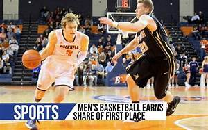Men's basketball earns share of first place - The Bucknellian