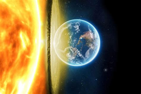 Why Doesn T The Earth Crash Into Sun - The Earth Images ...