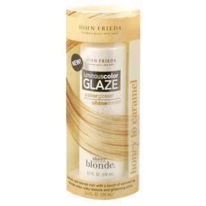 john frieda sheer blonde luminous color glaze honey
