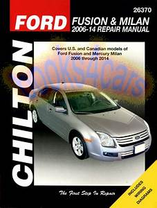 Ford Fusion Manuals At Books4cars Com