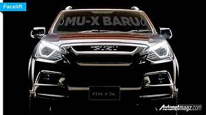 Muncul Teaser Isuzu Mu-x Facelift 2017  Di Thailand