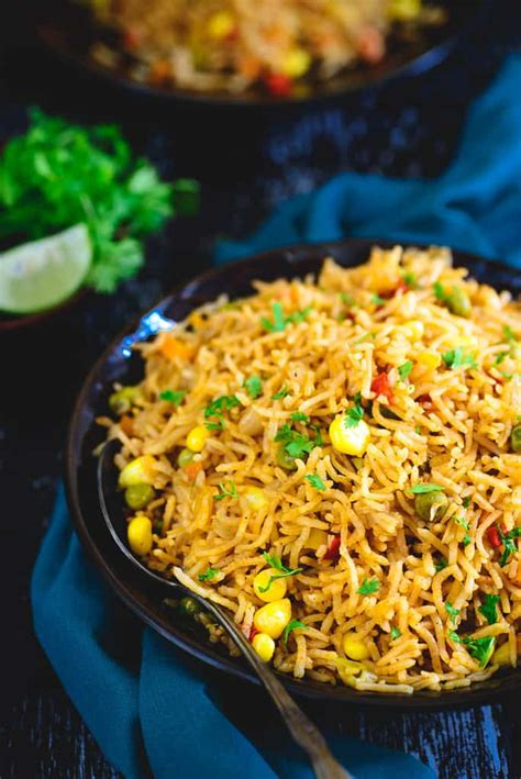 We had a mixture of leftover and fresh rice. Easy & Delicious One Pot Mexican Rice Recipe - Whiskaffair