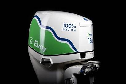 Electric Outboard Powerful Evoy Motor Launches Pro