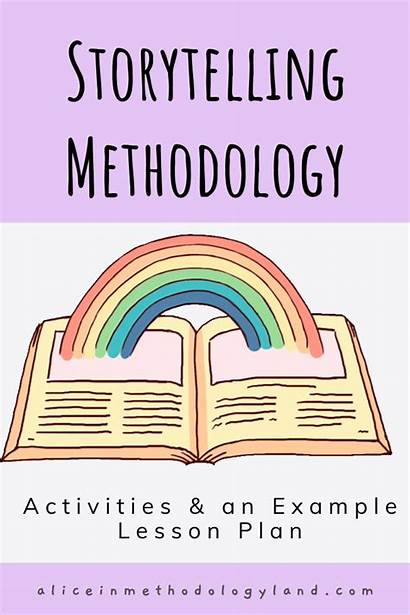 Lesson Storytelling Plan Methodology Example Activities Young