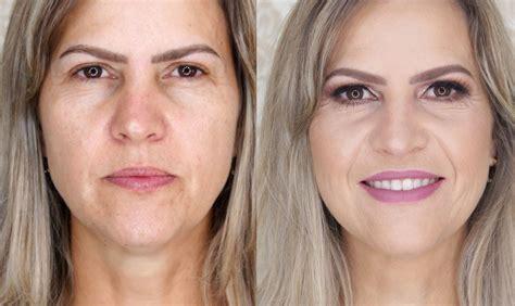 maquiagem  festa em pele madura youtube