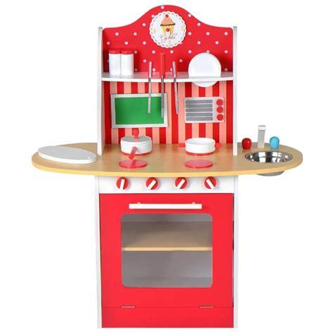 un jeux de cuisine davaus cuisine moderne en bois jouet avec des