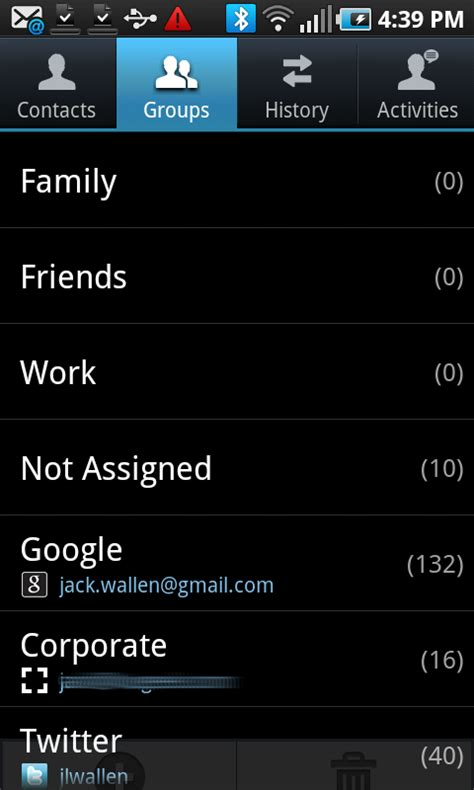 android contacts how to manage the contacts on your android phone