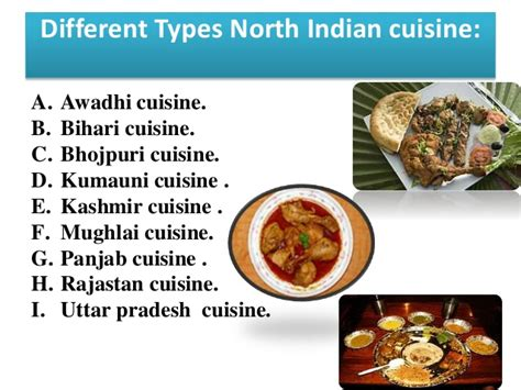 different indian cuisines presentation on indian cuisine