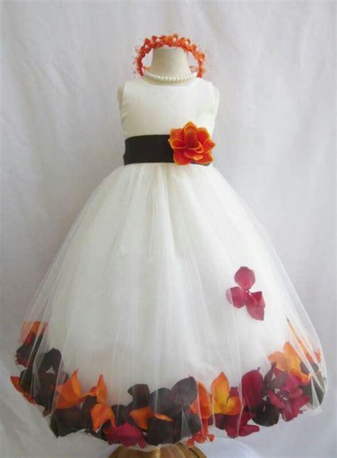 cute fall flower girl ideas  pinterest toddler