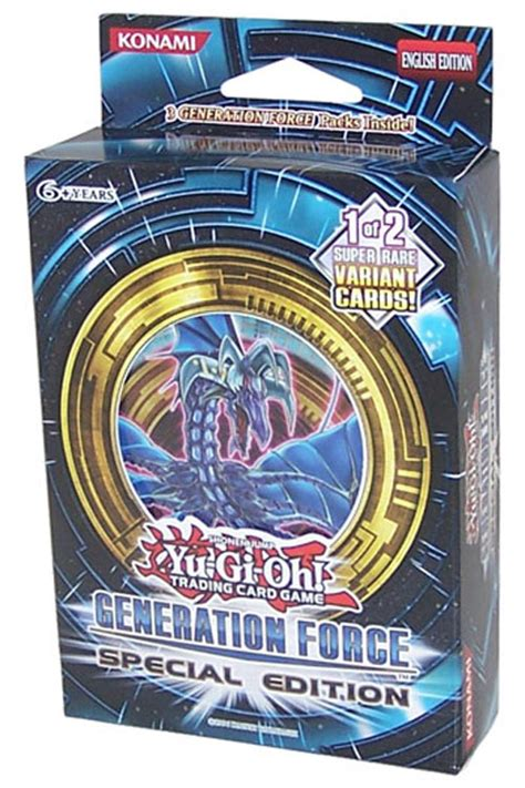 yu gi  cards zexal generation force special edition