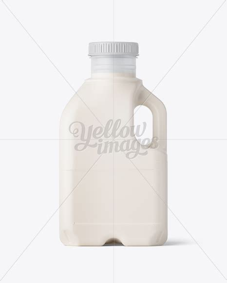 The abundance of beer bottle mockup templates of all colors and shapes will make your head spin. Download Frosted Plastic Jug With Milk Mockup - Side View PSD