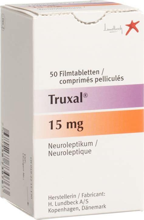 truxal filmtabletten mg  stueck  der adler apotheke