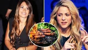 Shakira, Antonella Roccuzzo y el chorizo de la discordia