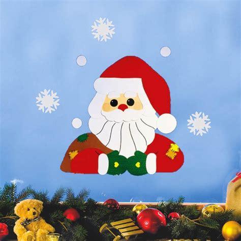 basteln weihnachten tonpapier fensterbild bastelvorlage knecht ruprecht fischer fensterbilder