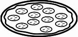 Pizza Coloring Coloring4free Printable Preschooler Select sketch template