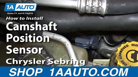install replace camshaft position sensor