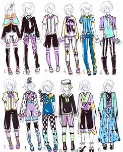 -CLOSED- MALE Pastel goth OUTFITS by Guppie-Vibes on DeviantArt