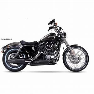 Harley Davidson Auspuff : auspuff ironhead schwarz harley davidson sportster xl ~ Jslefanu.com Haus und Dekorationen